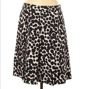 Banana Republic Silk Dot Skirt